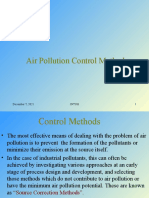 4 Air Pollution Control Methods
