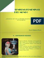 Top 3 de Las Tenistas Femeninas Del Mundo Actualmente
