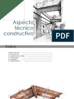Aspecto técnico constructivo