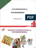 Rasgos Filosóficos de La Postmodernidad - Diapositivas