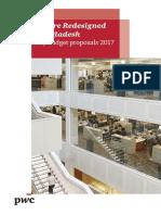 PwC Bangladesh Budget Flyer