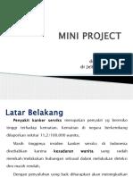 Mini project kanker serviks