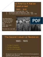 2-American History II Industrial America the Second Industrial Revolution