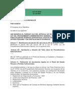 Publicación de Documentos Portal Del Estado