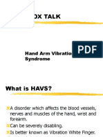 Hand Arm Vibration Syndrome HAVS.ppt