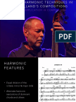 Lecture Recital - Dave Holland Harmony