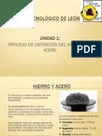 Hierro y Acero, Procesos de Fabricacion