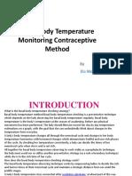 Basal Body Temperature Monitoring Contraceptive Method