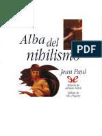 Paul, Jean - Alba del nihilismo [35830] (r1.0).epub