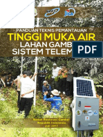 Panduan Teknis Pengukuran Tinggi Muka Air Lahan Gambut Sistem Telemetri