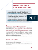 fiche lecture Education nationale