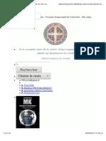 2014-Considérations de Médecine Légale Sur Les Cas de Traumas Rituels