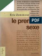 Zemmour Premier Sexe
