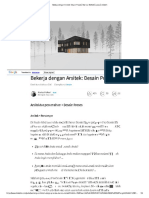 Bekerja Arsitek-Design Proses