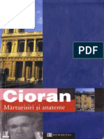 Emil Cioran - Marturisiri si anateme.pdf