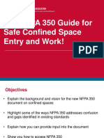 NFPA 350 Guide for Safe Confined Space Entry and Work