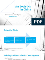 Cold Chain Logistics in China