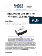 OEM Data Sheet Maya2000Prov3