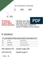 Ip-Address Cara Baru