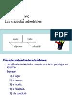 Subjuntivo Adverbial
