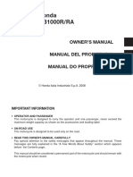 Honda Cb1000r Ra Owners Manual 107551 Motorcycle Fuel Economy In