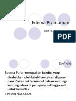 Edema Pulmonum