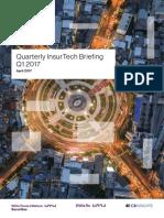 Willis Towers Watson Securities InsurTech Briefing Q1 2017