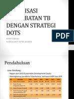 Sosialisasi Pengobatan Tb Dengan Strategi Dots