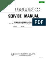 Furuno DS 80 Service Manual