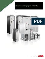 ABB Decanter VFD Configuration ACS880
