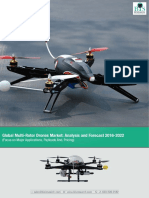 Global Multi-Rotor Drone Market Analysis Report