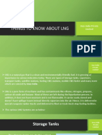 Things to Know About LNG