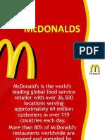 Global Iconic Brand - McDonalds Pankaj