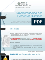 Aula 02 - Tabela Periódica Dos Elementos Químicos