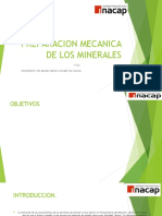 Preparacion Mecanica de Los Minerales