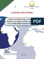 Audit marche Guinée