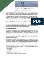 Patents Debate for TEFL