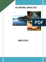 Plan Control Arca 2015