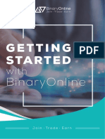 Getting Started With BinaryOnline