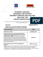 Secondary Tertiary Maternity Facilities t 2