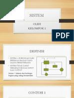 Sistem Ppt