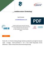 Clinical Mentoring 3 Gynecology Emergency Oleh Dr. Budi Wiweko Sp.og k