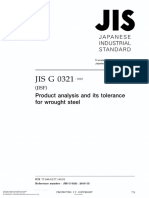 JIS G0321 - 2010, Product analysis and its tolerance for wrought steel.pdf