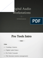 Pro Tools Introduction