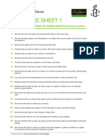 Resource Sheets