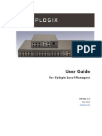 User Guide for Uplogix Local Managers 4.7