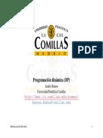 Programacion dinamica- Comillas.pdf