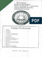 Cuerpo Profesional Musico