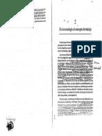 Dejours, C. (1998). de La Tecnologia Al Concepto de Trabajo.