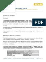 Condutores e Eletrodutos - dimensionamento
